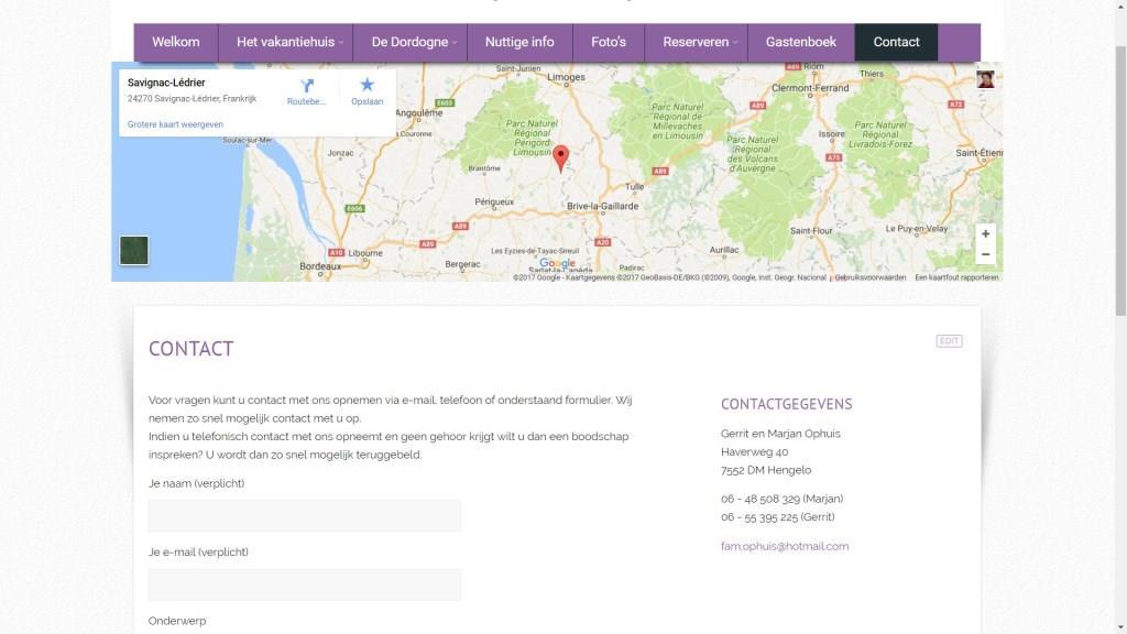 Frankrijk Dordogne