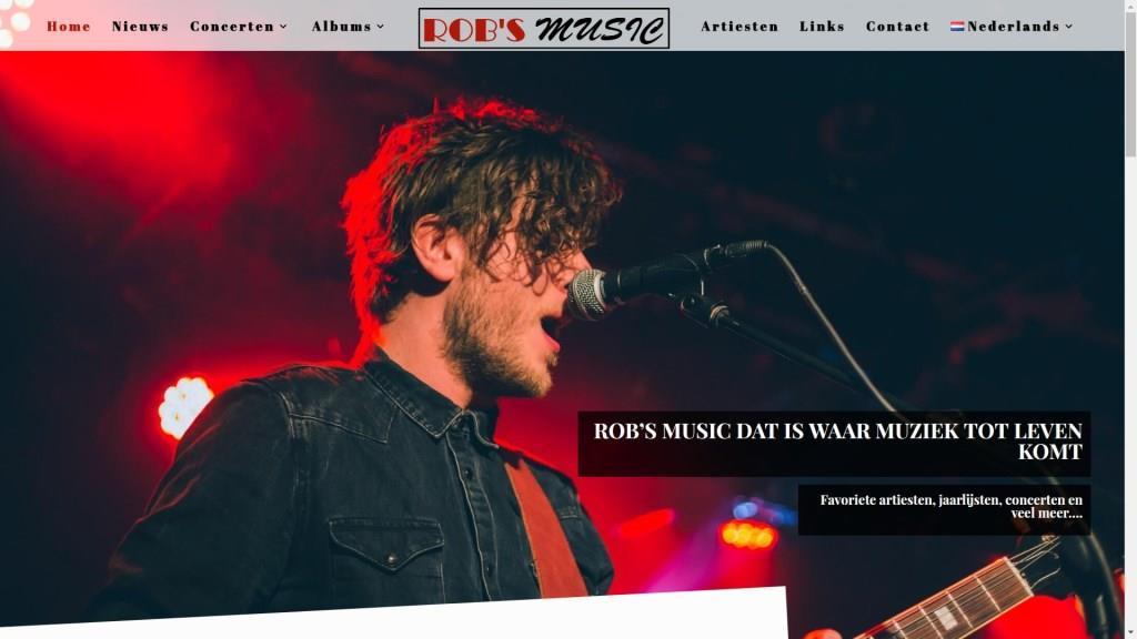 Rob's music