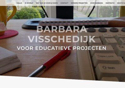 Barbara Visschedijk voor educatieve projecten