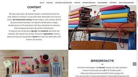 portfolio Barbara Visschedijk Journalistiek & Redactie