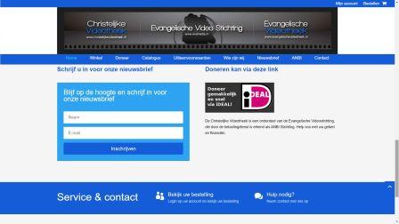 portfolio Christelijke Videotheek Care-align Webdesign