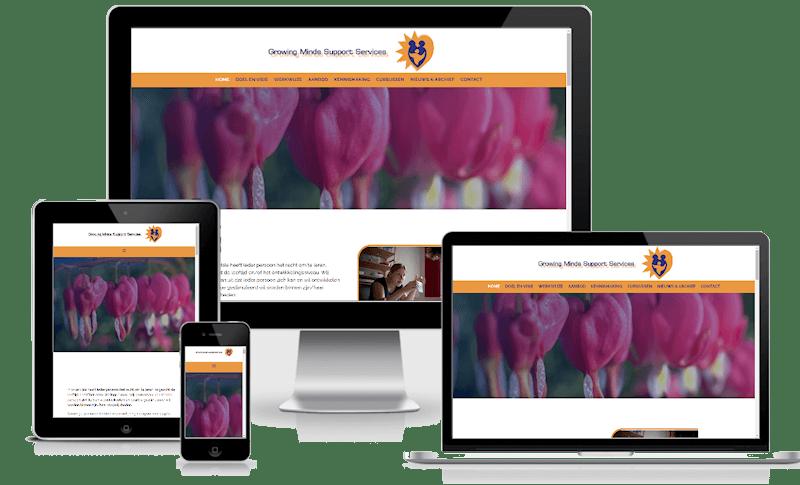 Portfolio Care-align Webdesign