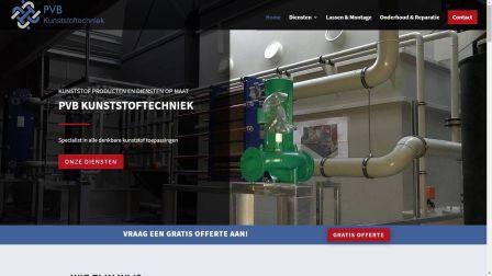 portfolio Care-align Webdesign PVB Kunststoftechniek