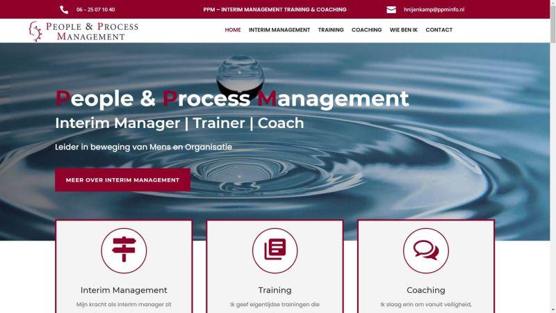 Nieuwe website PPM