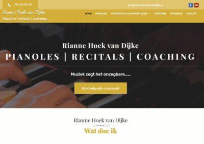 Pianolespraktijk Rianne Hoek van Dijke