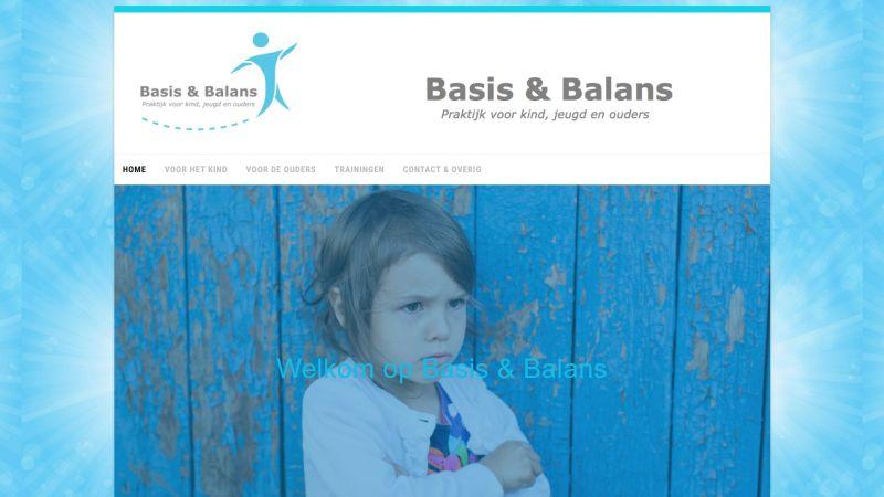 Oude website Basis & Balans